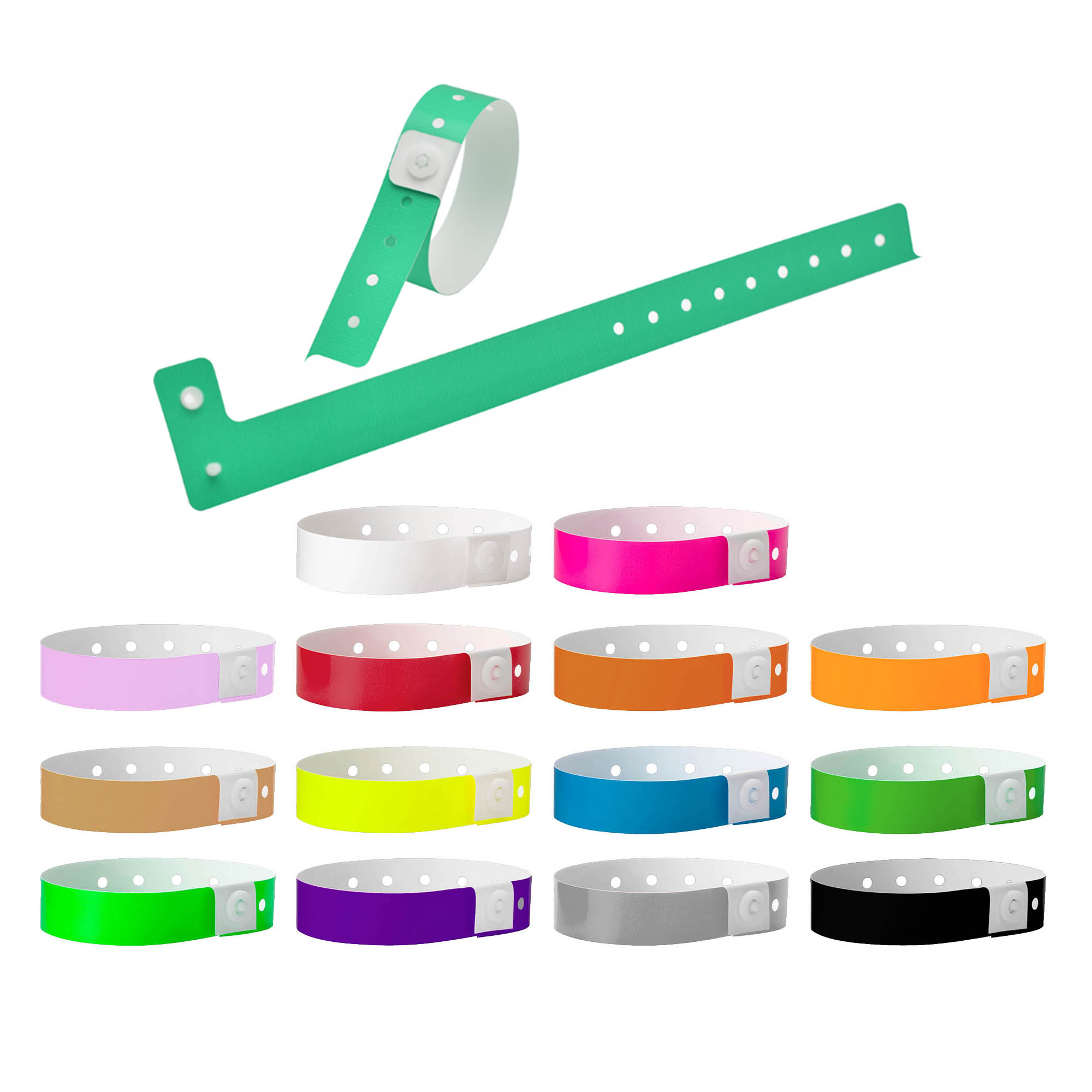 Code Plastic Wrist Band 16mm