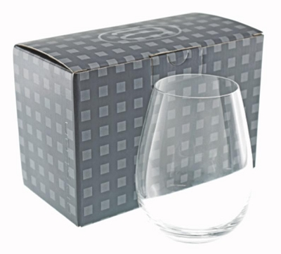 Stemless   per  (Twin Pack) - Includes a 1 colour printed logo, From $13.1