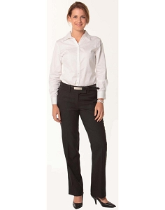 Women's Flexi Waist Utility Pants in Poly/Viscose Stretch, From $36.5