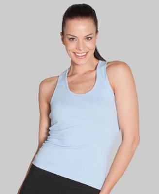 Colours of Cotton LADIES ATHLETIC SINGLET