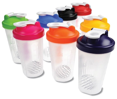 PROTEIN SHAKER -  Includes a 1 colour printed logo, From $3.05