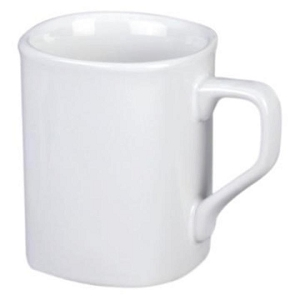 Square Mug SUB - White, Includes a full colour wrap print, From $6.18