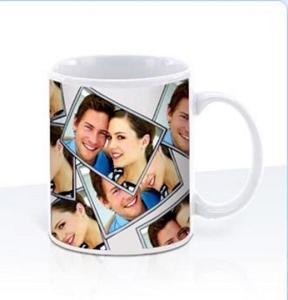 Can Mug SUB - White, Includes a full colour wrap print, From $5.53