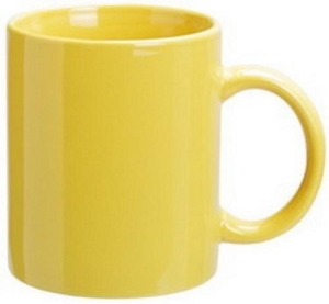 Can Mug - Yellow,  Includes 1 Colour Wrap Print, From $3.25