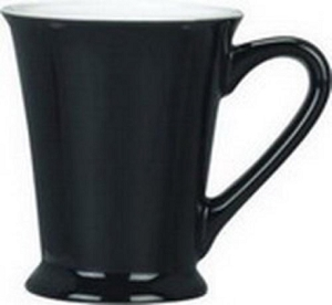 Valentia Mug - Black/White, Includes a 1 colour print on one side, From $3.97