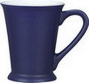 Valentia Mug - Cobalt/White, Includes a 1 colour print on one side, From $3.97