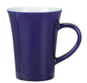 Vancouver Mug - Cobalt/White, Includes a 1 colour print on one side, From $3.06