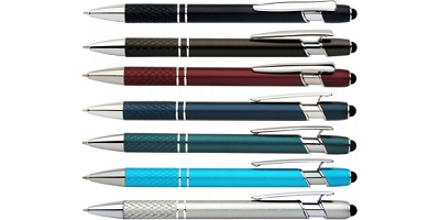 Grid Stylus Pens - Includes laser engravd logo, From $1.09