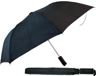 Folder Umbrella - Black - Includes a full colour logo