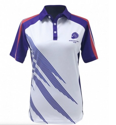 Ladies Polo Top Full Sublimation - Digital Print