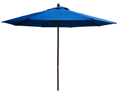 Cafe Market Umbrella 2.7mtr with a 1 colour print on 1 panel, From $210