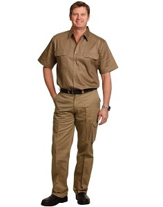 drill pant pockets on leg / stout fit, From $26.1