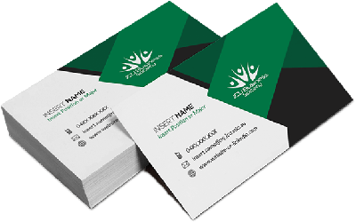 Business Cards 400gsm - 90 x 54mm - Full Colour & Laminated Both Sides, From $0.11