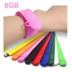 USB Slap WristBand Flash Drive 8GB - Xmas Special