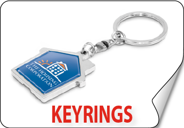Promotional Personalised keyrings