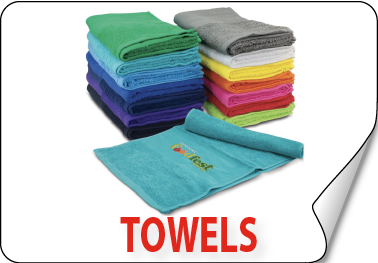 Promotional personalised Towels