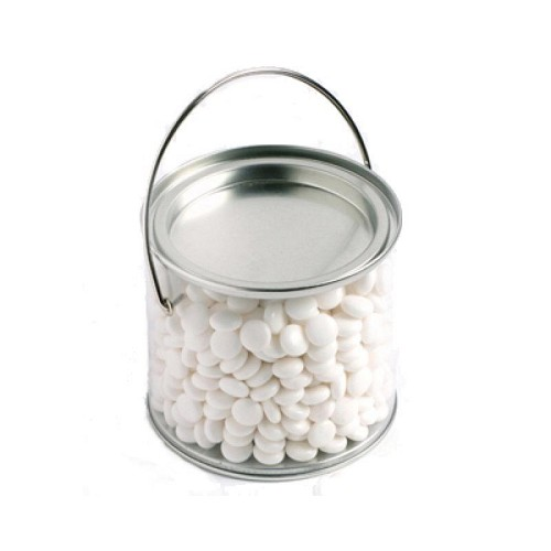 Medium PVC Bucket Filled with Mints 400G