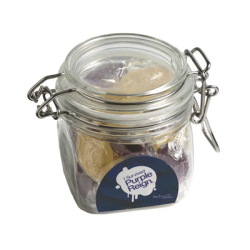 Twist Wrapped Boiled Lollies in Canister 120G - Includes Unbranded