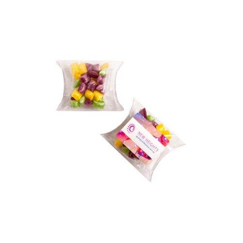 Corporate Coloured Humbugs in Pillow Pack 20G - Includes Unbranded