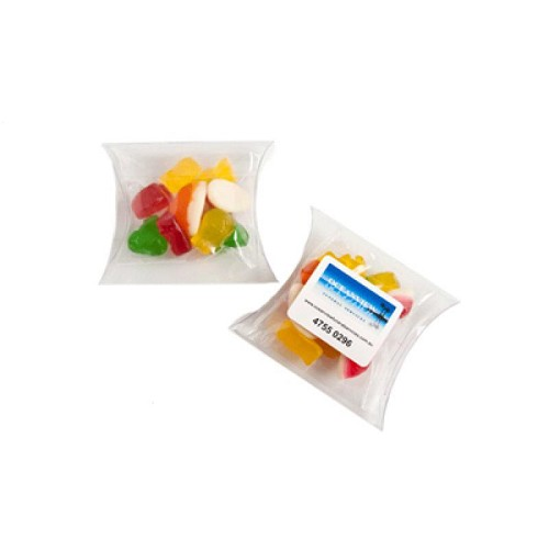 Jelly Babies in Pillow Pack 50G - Includes Colour Sticker