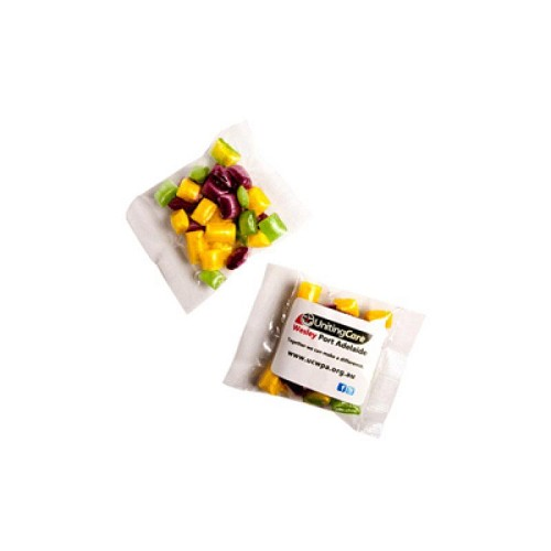 Corporate Coloured Humbugs 20G - Includes Colour Sticker on bag, From $1.14