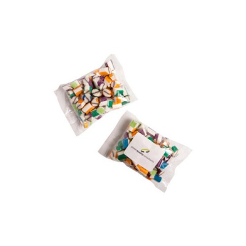 Rock Candy Bags 100G - Includes Colour Sticker