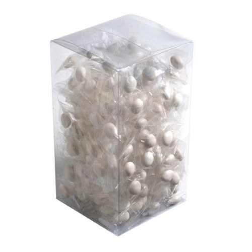 Big PVC Box Filled with Chewy Mints 800G
