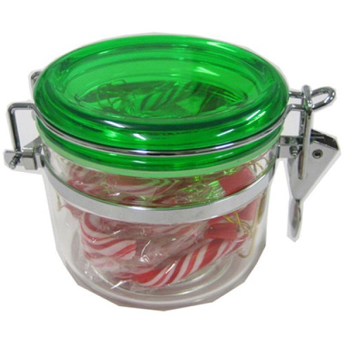 Candy Canes in Canister 100G - Includes Colour Sticker