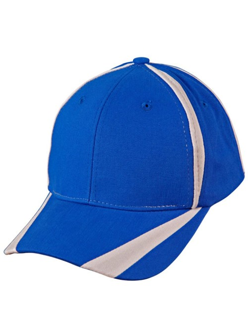 "Brushed cotton twill baseball cap  ""X"" contrast, From $4.14"