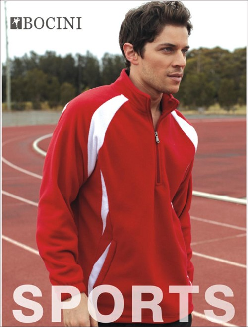 UNISEX ADULTS 1/2 ZIP SPORTS PULL OVER FLEECE, From 20.91