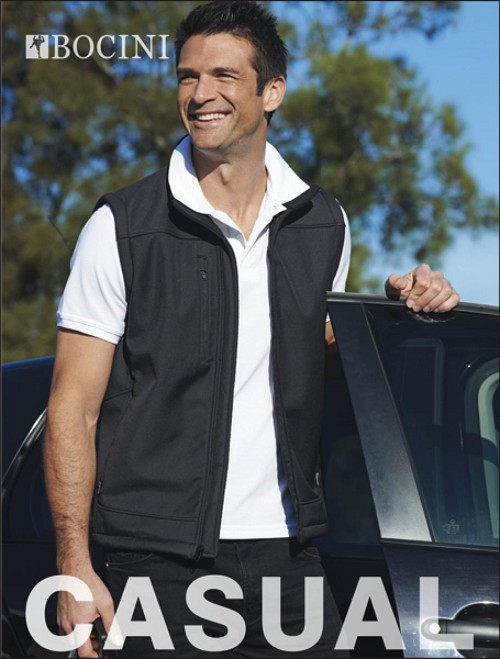 MENS SOFT SHELL VEST, From 28.71
