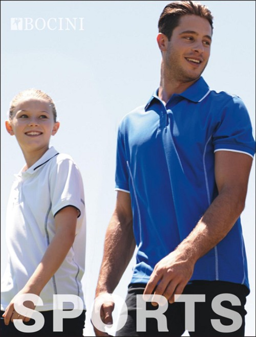 STITCH FEATURE ESSENTIALS-KIDS SHORT SLEEVE POLO