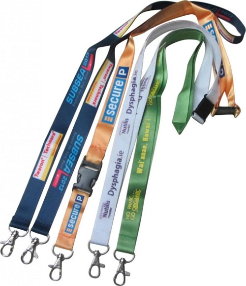 Lanyards 15mm wide with a full colour print on both sides - FREE SET UP, From $0.76