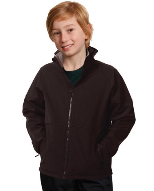 Kids' Softshell Full Zip Hoodie, From $44.3