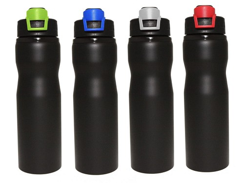 STAINLESS STEEL DRINK BOTTLE -  Includes laser engraving logo