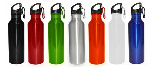 ALUMINIUM SPORT BOTTLE -  Includes laser engraving logo, From $3.89