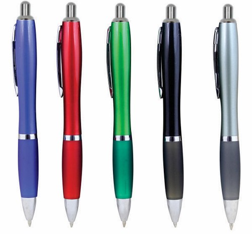 PLASTIC PEN -  Includes a 1 colour printed logo, From $0.31