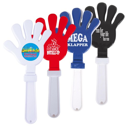 Mega Klapper - Includes a 1 colour printed logo