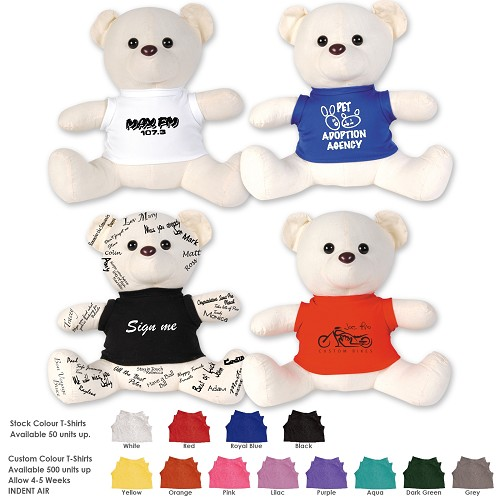 The Original Signature Calico Bear - Supplied Unbranded
