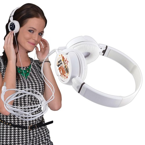 Jazz Headphones - Includes a 1 colour printed logo