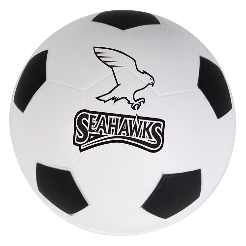 Soccer Ball Stress Reliever - Includes a 1 colour printed logo