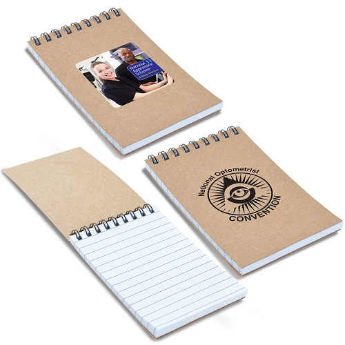 Survey Spiral Pocket Notebook - Includes a 1 colour printed logo
