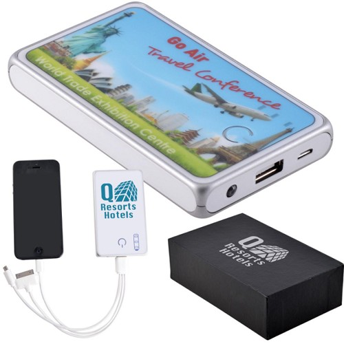 Superior Tablet Power Bank - Includes a 1 colour printed logo