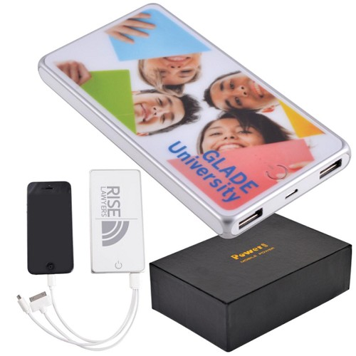 Elite Tablet Power Bank - Includes a 1 colour printed logo