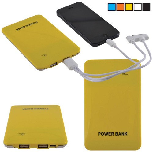 Fuse Power Bank - Includes a 1 colour printed logo