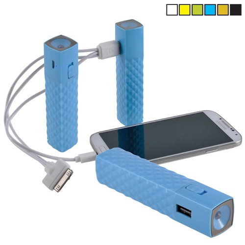 Beat Power Bank - Includes a 1 colour printed logo
