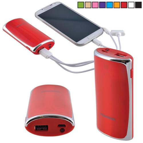 Source Power Bank - Includes a 1 colour printed logo
