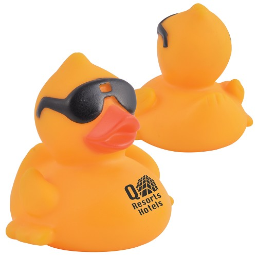 Cool PVC Bath Duck - Includes a 1 colour printed logo, From $2.67