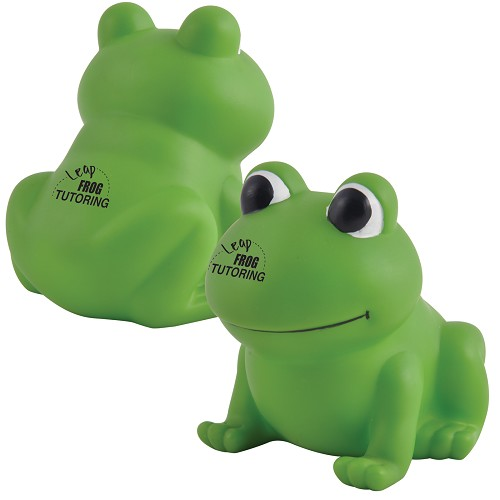 Ribbit PVC Bath Frog  - Includes a 1 colour printed logo, From $3.74