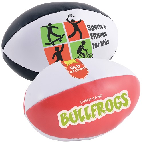 Soft PVC Football - Includes a 1 colour printed logo
